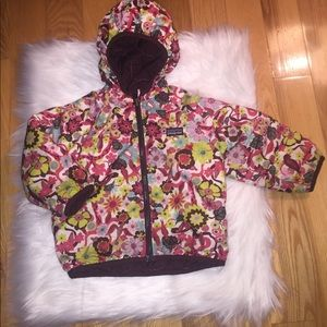 Patagonia Girls 2T coat reversible